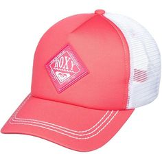 Roxy Racy Trucker Hat ( 19) ❤ liked on Polyvore featuring accessories 0d288b4d989