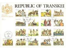 'n Dekoratiewe posseelreeks wat verskillende aspekte van Xhosa-kultuur uitbeeld