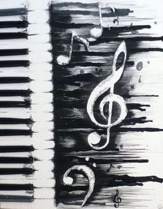 ▷ Ideen: moderne Leinwandbilder selber gestalten Drawings, Theresa G, Drawings Musik DIY Modern Canvas Art Musical Piano Source by . Diy Art, Melting Crayons, Art Moderne, Painting & Drawing, Music Painting, Music Artwork, Music And Art, Diy Painting, Creative Painting Ideas