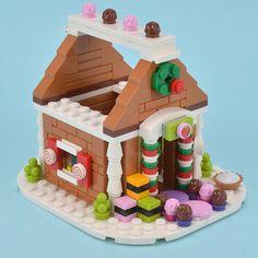 Lego Christmas Village, Lego Winter Village, Christmas Crafts, Xmas, Lego Minifigs, Lego Duplo, Easy Lego Creations, Fun Crafts, Crafts For Kids