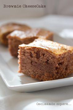 María Ramos Ortiz Fotografía Brownie cheesecake