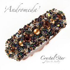 Andromeda Bracelet Tutorial by Crystalstargems on Etsy