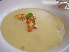 Kartoffelcremesuppe, ein schmackhaftes Rezept aus der Kategorie Schnell und…