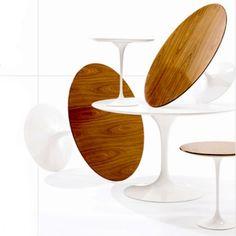 MASINFINITO CASA - http://masinfinitocasa.com/products/muebles/mesa-tulip-madera-natural