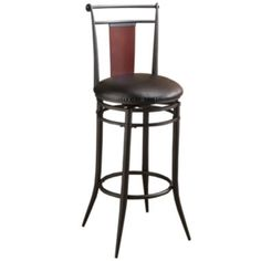 Midtown Swivel Barstool with Back found at @JCPenney