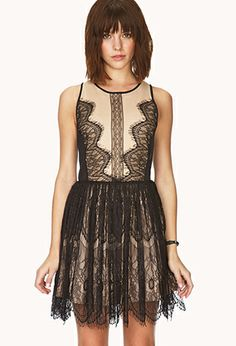 Romantic-At-Heart Lace Dress | FOREVER21 - 2031557865