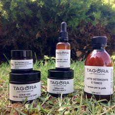 LINEA VISO - TAGORA JUST FROM NATURE Scopri i nostri prodotti ESCLUSIVI concepiti per il benessere NATURALE del viso...