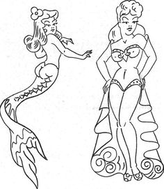 Sailor Jerry's iconic pin-up girls have carried on the SJ legacy throughout the years. Take a look at some hula dancers, geishas and pirates that have kept the legend going strong!