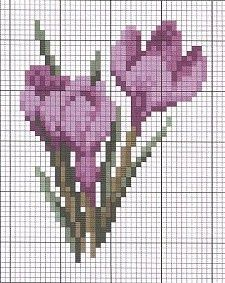 cross stitch chart. 123 Cross Stitch, Cross Stitch Cards, Cross Stitch Borders, Modern Cross Stitch Patterns, Cross Stitch Flowers, Cross Stitch Designs, Cross Stitching, Cross Stitch Embroidery, Stitch Cartoon