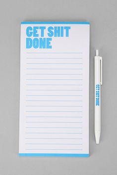 Notepad with an attitude. #urbanoutfitters