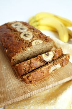 the perfect {vegan} banana bread | The Baking Fairy Come and see our new website at bakedcomfortfood.com!