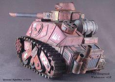Ork Scrap Tank Warhammer 40K Build by Thomas Schroeder 12/2014 Size: 125 x 80 x85mm