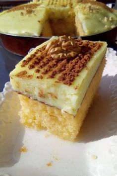 Greek Sweets, Greek Desserts, Greek Recipes, Food Gallery, Sweets Recipes, What To Cook, Winter Food, Cheesecake, Food And Drink
