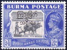 Myanmar (Burma) Stamp