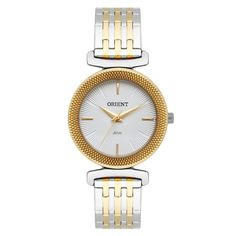 872f22096e3 Relógio Feminino Orient Analógico FTSS1105 S1SK Aço Misto