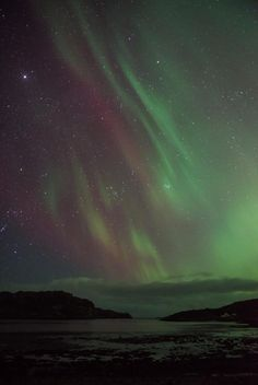 Solar activity has created a stunning display of colors in the Aurora Borealis, visible on Feb. 28, 2014.