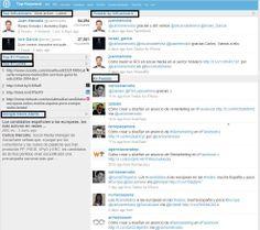 Monitoriza en tiempo real y nos muestra influencer que están hablando sobre un tema determinado en Twitter