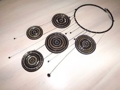 "Necklace ""Disco"" by ElieJJ on Etsy"