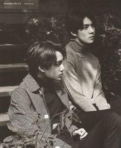 Kai and Sehun 2016 EXO CALENDAR