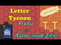Letter Tycoon Review - with Tom and Zee