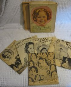 Shirley Temple 5 Books About Me  Biography by DocsOddsandEnds