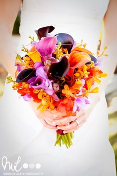 My wedding flowers! (by lotusfloraldesigns.com, photos by meghanlynnphotography.com)