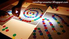 СВЕТОВОЙ СТОЛ - Light table - подарит потрясающий сенсорный опыт :: Игры, в которые играют дети и Я