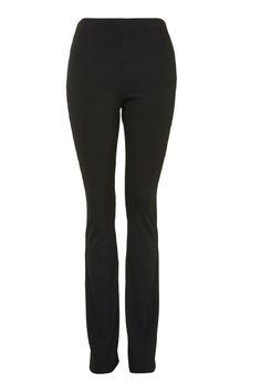 MATERNITY Skinny Rib Flare Trousers