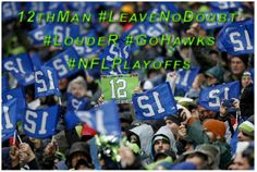 Great Job Seahawks for beating the Saints 23-15 in Seattle. #LOUDER #LeaveNoDoubt #NFLPlayoffs #12thMan #NOvsSEA #GoHawks #seattleseahawks