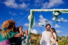 Boda en la playa Bodas Ranas y Princesas Foto de Susana Barberá