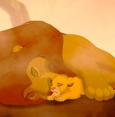 LOVE The Lion King, but this scene.... oh! Gets me every time :'(