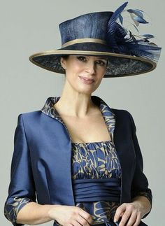 A classic mother of the bride design by Presen Mother Of The Bride Hats 979449954de