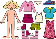 paperdolls for free Kids Education, Special Education, 4 Kids, Children, Kindergarten, Montessori Practical Life, Pre School, Preschool Activities, Paper Dolls