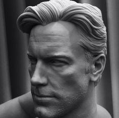 Ben Affleck 3D Printed, vimal kerketta on ArtStation at https://www.artstation.com/artwork/Nbw1q