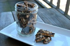 English Toffee For Your Morning Coffee large by AllJarredUp, $13.00 Product Photography, Toffee, Morning Coffee, English, Baking, Unique Jewelry, Shop, Etsy, Sticky Toffee
