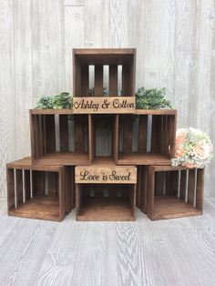 Rustic Wedding Cupcake Stand, Crate Cupcake Stand, Wood Cupcake Stand is part of Wedding cupcakes rustic - wood Box Stand Wooden Crates Rustic Wedding Cupcake Stand, Crate Cupcake Stand, Wood Cupcake Stand Wooden Cupcake Stands, Rustic Cupcakes, Rustic Cupcake Display, Rustic Food Display, Display Ideas, Rustic Cake, Rustic Dessert Tables, Craft Booth Displays, Buffet Tables