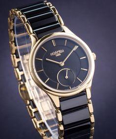 ZEGAREK DAMSKI ROAMER CERALINE SMALL SECOND http://zegarownia.pl/zegarek-damski-roamer-ceraline-67785548-55-60