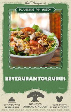 Walt Disney World Planning Pins: Restaurantosaurus