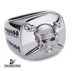 Swarovski Disney Pirates of The Caribbean Skull & Swords Ring 1095052