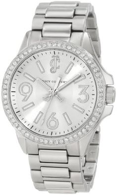 Juicy Couture Women's 1900958 Jetsetter Stainless Steel Bracelet Watch - http://fashion.designerjewelrygalleria.com/watches/juicy-couture-womens-1900958-jetsetter-stainless-steel-bracelet-watch/