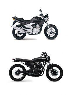 Yamaha Fazer 250 Brat 12
