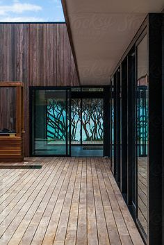 Contemporary Beach House by Rowena Naylor