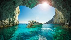 Zakynthos Zante island in Greece. Step by step panoramic guide of Zakynthos Island. Zakynthos Greece, Exotic Beaches, Greece Islands, Beach Pictures, Greece Travel, Beautiful Places, Places To Visit, Around The Worlds, Tours