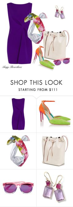 """Color"" by angy-beurskens ❤ liked on Polyvore featuring Roksanda Ilincic, Brian Atwood, Ted Baker, Elena Ghisellini, Wildfox and Ippolita"