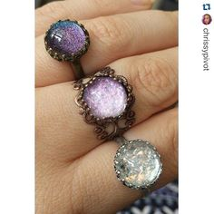 Brand Rep #Repost from @chrissypivot, check out her profile to get her rep code  ・・・ Absolutely stunning rings from @countrymermaids. Seriously cannot believe how gorgeous these are! Just ordered a few more while their July 4th sale is on ;) #countrymermaids GET 10% OFF WITH MY CODE CHRISSY10 ♡