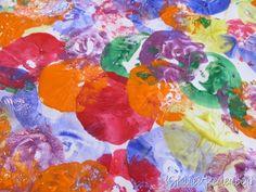 Balloon painting...