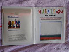 Magnet Art : Pochette de rangement des magnets Magnets, Art, Color, Art Background, Kunst, Performing Arts, Art Education Resources, Artworks
