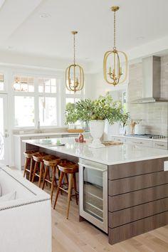 Clean Bright Kitchen