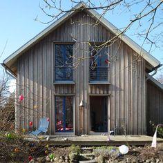 Holzhaus Alperstedt Aussen Aus Holz Pinterest Holzhaus