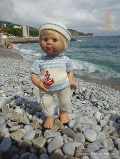 """""""Возвращение в лето"""" или... куклы Wichtel от Rosemarie Müller и отдых в Крыму / Одежда и обувь для кукол - своими руками и не только / Бэйбики. Куклы фото. Одежда для кукол"""